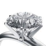 Anel de diamante fotografia de stock royalty free