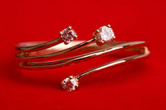 Anel de diamante Foto de Stock