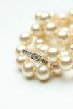 Anel de diamante e pérolas Imagem de Stock