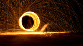 Anel de incêndio Foto de Stock Royalty Free