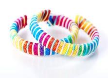 Anel de orelha colorido fotografia de stock