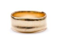 Anel de ouro Fotografia de Stock