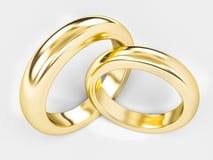 Anel de ouro Imagens de Stock