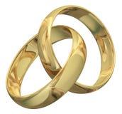 Anel de ouro Imagens de Stock Royalty Free