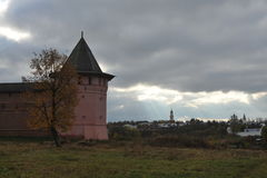 Anel de ouro de Rússia Suzdal Foto de Stock Royalty Free