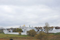 Anel de ouro de Rússia Suzdal Fotos de Stock