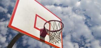 Anel do basquetebol Fotografia de Stock