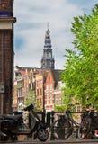 Anel do canal, Amsterdão Imagem de Stock Royalty Free