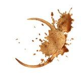 Anel do copo de café. Imagem de Stock Royalty Free