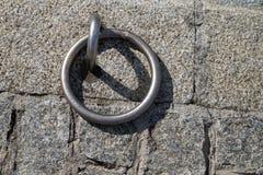 Anel do ferro para navios Fotografia de Stock