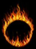 Anel do fogo Foto de Stock Royalty Free