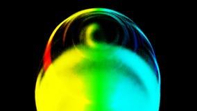 Anel do plasma em um fundo escuro Movimento abstrato Tecnologia, bola da esfera do círculo da energia ilustração do vetor