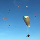 Anel dos paragliders Fotos de Stock Royalty Free