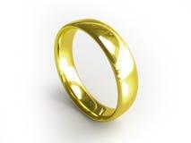 Anel dourado ilustração do vetor