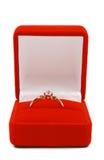 Anel dourado Fotografia de Stock Royalty Free
