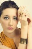 Anel dourado fotos de stock royalty free