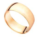 Anel dourado Imagem de Stock