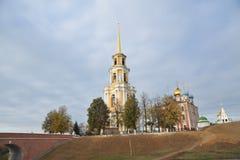 Anel dourado de Rússia Foto de Stock Royalty Free