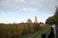Anel dourado de Rússia Fotos de Stock Royalty Free