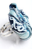 anel Mão-trabalhado Fotos de Stock