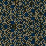 Anel manchado do teste padrão árabe sem emenda Fotografia de Stock Royalty Free