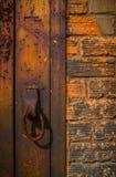 Anel oxidado Fotos de Stock Royalty Free