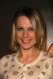 Aneliese Roettger bij een onderzoek van een ?Manier met Moord? in Screamfest, Chinees 6, Hollywood, CA. 10-15-10 Stock Foto's