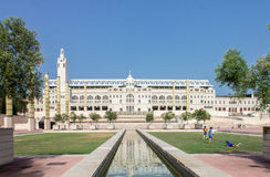 Anella Olimpica Barcelona Spain Stock Image