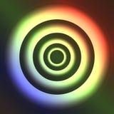 Anelli al neon Immagine Stock