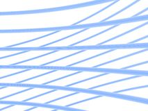 Anelli astratti blu-chiaro Immagine Stock Libera da Diritti