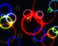 Anelli Colourful Fotografie Stock Libere da Diritti