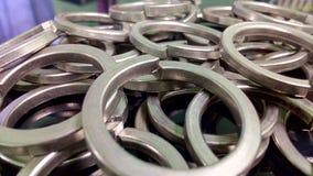 Anelli d'acciaio Immagine Stock Libera da Diritti