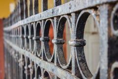 Anelli del ferro fotografia stock