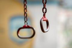 Anelli del ferro per stringere Fotografia Stock