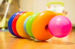 Anelli del giocattolo Fotografie Stock