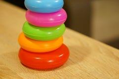 Anelli del giocattolo Fotografia Stock Libera da Diritti