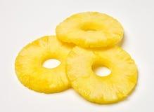 Anelli dell'ananas Fotografia Stock Libera da Diritti