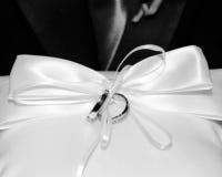Anelli di cerimonia nuziale Immagine Stock Libera da Diritti