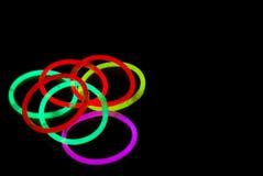Anelli di colore Fotografia Stock