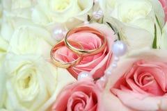 anelli di oro Fotografia Stock Libera da Diritti