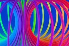 Anelli fluorescenti. Immagine Stock Libera da Diritti