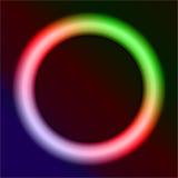 Anello al neon Fotografia Stock Libera da Diritti
