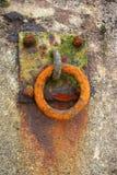 Anello arrugginito Fotografia Stock Libera da Diritti