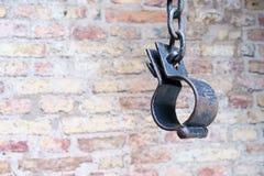Anello arrugginito del ferro Fotografia Stock Libera da Diritti