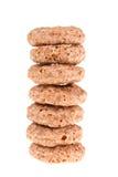 Anello dei cereali del cioccolato Immagine Stock