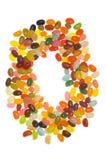 Anello dei fagioli di gelatina Fotografie Stock Libere da Diritti