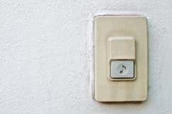 Anello del campanello per porte Fotografie Stock Libere da Diritti