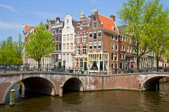 Anello del canale, Amsterdam Fotografia Stock Libera da Diritti