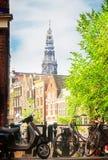 Anello del canale, Amsterdam Fotografia Stock