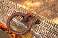 Anello del ferro Immagini Stock Libere da Diritti